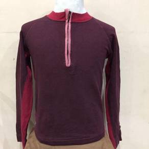 Diesel Red Long Sleeve Shirt Size M Made In Turkey