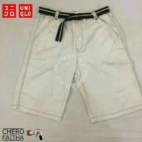 Uniqlo kid short pant seluar pendek budak