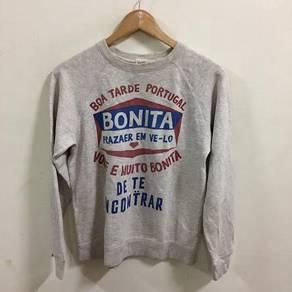 Bonita Boa Tarde Portugal Sweatshirt Size M