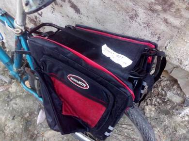 Bicycle MTB tarvel carry bag frame bag basikal bag
