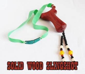 Solid Wood Slingshot II | Lastik Kayu
