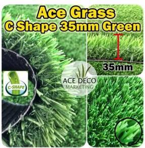 Ace C35mm Green Artificial Grass Rumput Tiruan 24