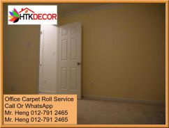 Plain Design Carpet Roll - with install 76yt654