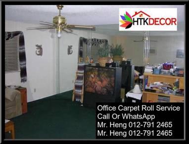 Modern Plain Design Carpet Roll With Install uy65