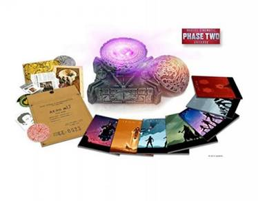 Marvel Cinematic Universe: Phase Two (Blu Ray)