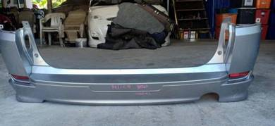 Mitsubishi Delica d5 2009 rear bumper with lip
