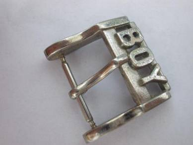 Vintage Boy london watch buckle