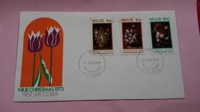 First Day Cover NIUE Christmas 1973 No 546