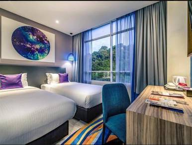 Kk town area 4 star hotel suite stay voucher