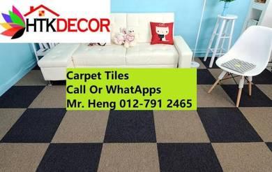 DIY Classic Plain Office Carpet Tiles 4trgt