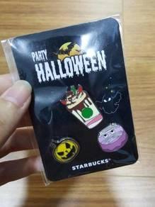 Starbucks Halloween Rare Partner Pin