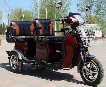 Electric Scooter Bandar Tricycle TT new