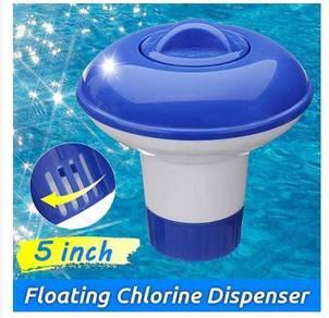 Chlorine Dispenser Bekas Klorin dalam Kolam