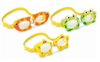 Intex Swim Goggle Kids Goggle Cermin Mata Renang