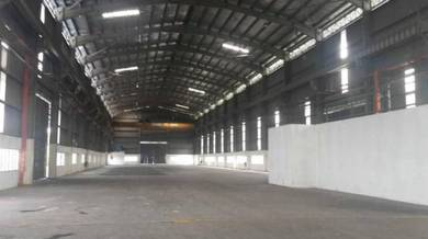 Superb Freehold Main Road Factory in Shah Alam with 1200A. Good Buy!!