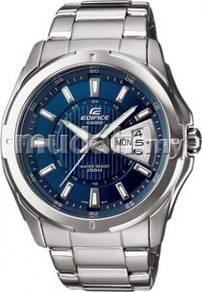 Watch - Casio STEEL EF129 BLUE - ORIGINAL