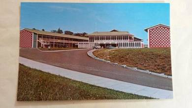 Antik Old Sandakan Borneo Postcard 1950s No 96