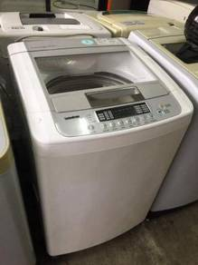 LG 9KG washing machine automatic top load