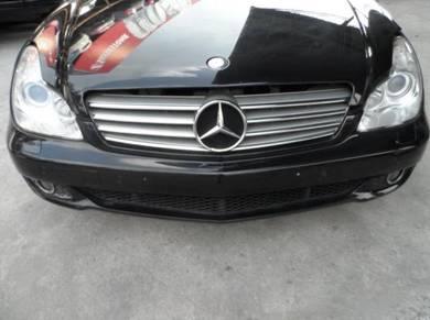 Mercedes benz cls350 half cut
