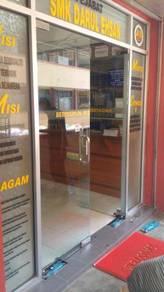 GLASS DOOR HIDRAULIC CLOSER l baiki pintu kaca