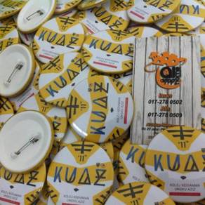 Koleksi Button Badge Design Trmurah 2018