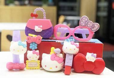 2018 Hello Kitty McDonald's 7pcs toys
