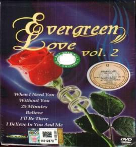 DVD Evergreen Love Vol.2 Karaoke