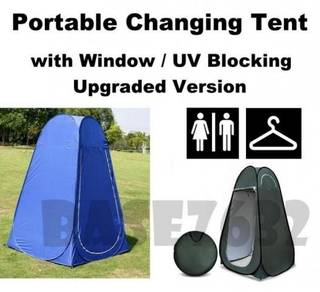 Portable Changing Tent Fitting Room Window UV
