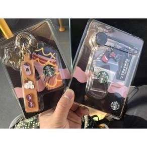 Starbucks Summer Keychain Pin Card