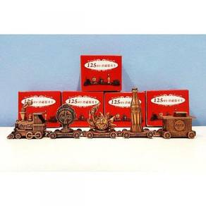 Coca Cola 5 in 1 Metal Mini Train Collection Set
