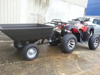 Atv 200cc ad with trailer motor new 2019