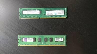 2x4GB DDR3 1333Mhz