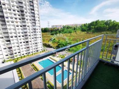 LOW FLOOR Putra Impian Apartment Bandar Seri Putra Bangi