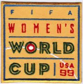 1999 3rd USA FIFA Women World Cup Football Patch