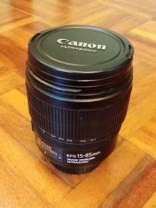 Canon EFS 15-85mm F3.5-5.6 Zoom Len