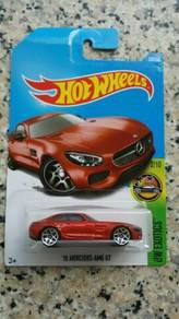 HotWheels '15 Mercedes AMG GT Red