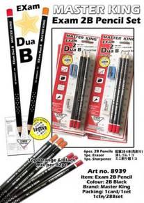 EXAM 2B Pencil CARD SET