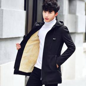Handsome korean fashion windbreaker