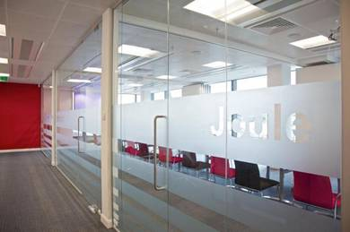 Partition Office Glass Aluminium # Ceiling Works