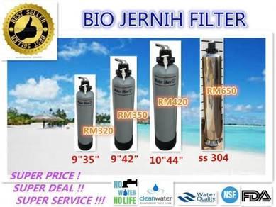 5tt Water Jernih Filter / Penapis Air siap pasang