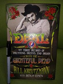 Greatfull dead hard cover book 368page