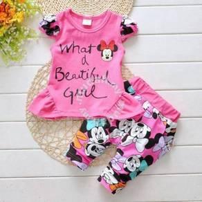 Minnie Korean Baby Girl Set -SC004