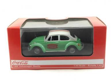 MC 1:43 Coca-Cola Volkswagen Beetle 1966 Green