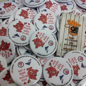 Print Button Badge Malaysia Trmurah