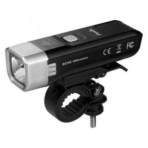 Fenix bc25r usb rechargeable bike light 600 lumen
