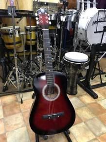 Guitar Acoustic Redburst (36