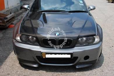 BMW E46 Carbon Fiber Front Bonnet E46 bodykit
