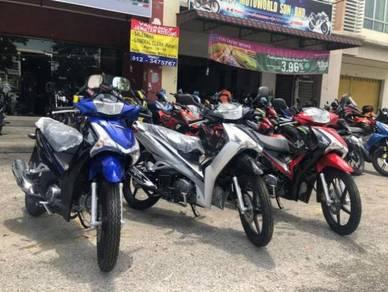 2021 New Honda Wave 125i 125 Duty Free Muka 0