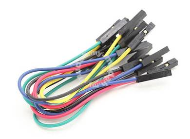 Female to Female Single Wire Jumper lead 25AWG 125