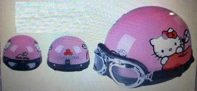 Hello Kitty Kids Helmet (Topi Keledar permainan)
